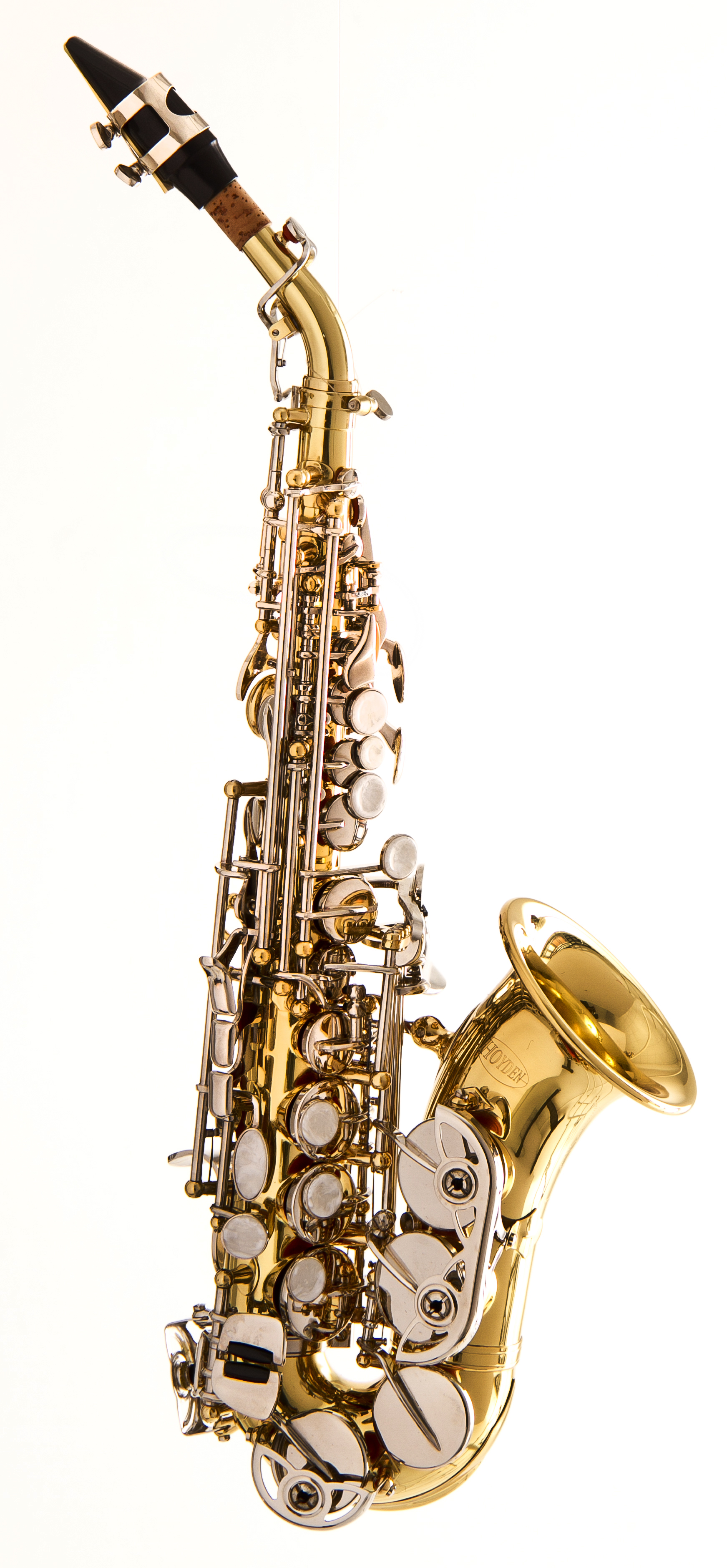 Sax Soprano Curvo HSC-25LN Sib
